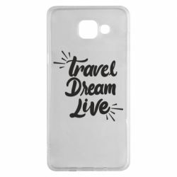 Чехол для Samsung A5 2016 Travel Dream Live