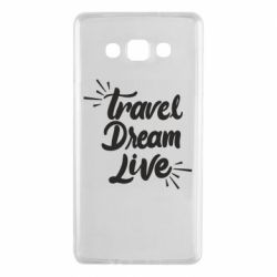 Чехол для Samsung A7 2015 Travel Dream Live