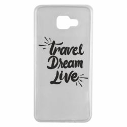 Чехол для Samsung A7 2016 Travel Dream Live
