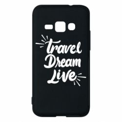 Чехол для Samsung J1 2016 Travel Dream Live
