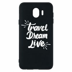 Чехол для Samsung J4 Travel Dream Live