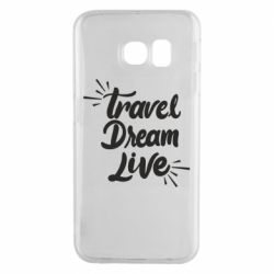 Чехол для Samsung S6 EDGE Travel Dream Live