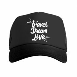 Кепка-тракер Travel Dream Live