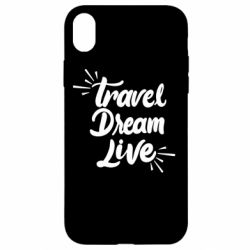 Чехол для iPhone XR Travel Dream Live