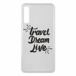 Чехол для Samsung A7 2018 Travel Dream Live