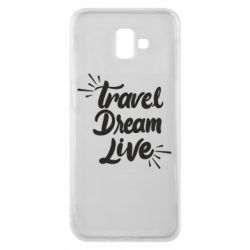 Чехол для Samsung J6 Plus 2018 Travel Dream Live