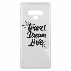 Чехол для Samsung Note 9 Travel Dream Live