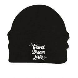 Шапка на флисе Travel Dream Live