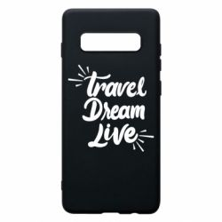 Чехол для Samsung S10+ Travel Dream Live