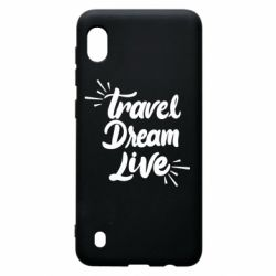 Чехол для Samsung A10 Travel Dream Live