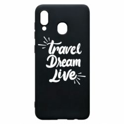 Чехол для Samsung A30 Travel Dream Live