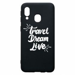 Чехол для Samsung A40 Travel Dream Live