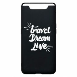 Чехол для Samsung A80 Travel Dream Live