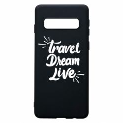 Чехол для Samsung S10 Travel Dream Live