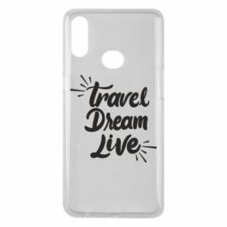 Чехол для Samsung A10s Travel Dream Live