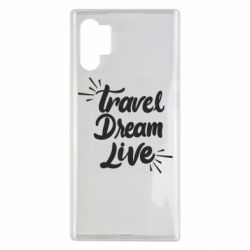 Чехол для Samsung Note 10 Plus Travel Dream Live