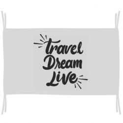 Флаг Travel Dream Live