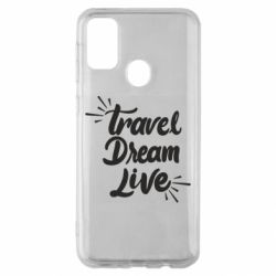 Чехол для Samsung M30s Travel Dream Live