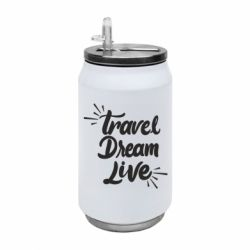 Термобанка 350ml Travel Dream Live