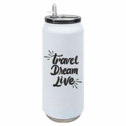 Термобанка 500ml Travel Dream Live