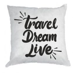 Подушка Travel Dream Live
