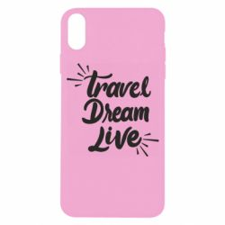 Чехол для iPhone X/Xs Travel Dream Live