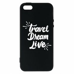 Чехол для iPhone5/5S/SE Travel Dream Live