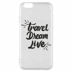 Чехол для iPhone 6/6S Travel Dream Live