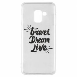 Чехол для Samsung A8 2018 Travel Dream Live
