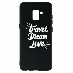 Чехол для Samsung A8+ 2018 Travel Dream Live