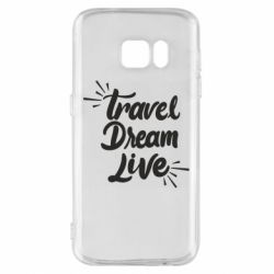 Чехол для Samsung S7 Travel Dream Live