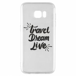 Чехол для Samsung S7 EDGE Travel Dream Live