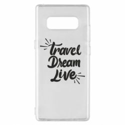 Чехол для Samsung Note 8 Travel Dream Live