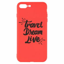 Чехол для iPhone 8 Plus Travel Dream Live