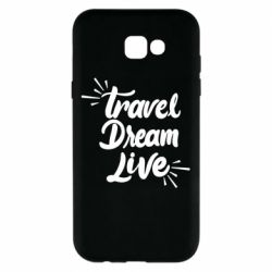 Чехол для Samsung A7 2017 Travel Dream Live
