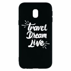 Чехол для Samsung J3 2017 Travel Dream Live