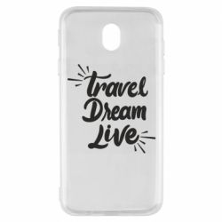 Чехол для Samsung J7 2017 Travel Dream Live