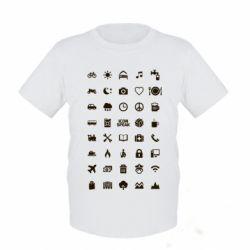 Детская футболка Travel