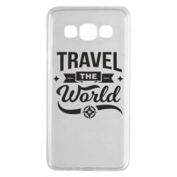 Чехол для Samsung A3 2015 Travel the world and compass