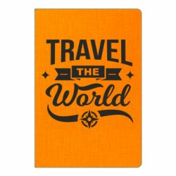 Блокнот А5 Travel the world and compass