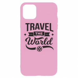 Чехол для iPhone 11 Travel the world and compass