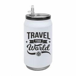 Термобанка 350ml Travel the world and compass