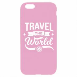 Чехол для iPhone 6 Plus/6S Plus Travel the world and compass