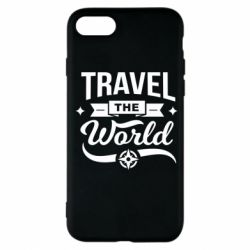 Чехол для iPhone 7 Travel the world and compass