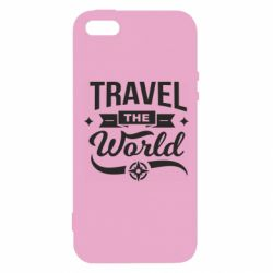 Чохол для iphone 5/5S/SE Travel the world and compass