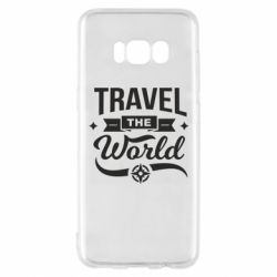 Чехол для Samsung S8 Travel the world and compass