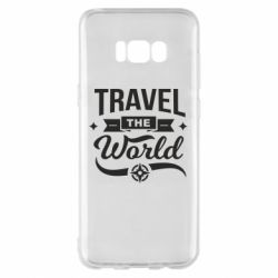 Чехол для Samsung S8+ Travel the world and compass