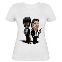 Женская футболка Travolta & L Jackson