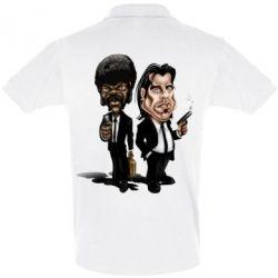 Мужская футболка поло Travolta & L Jackson