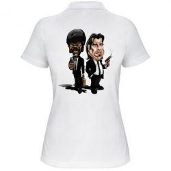 Женская футболка поло Travolta & L Jackson